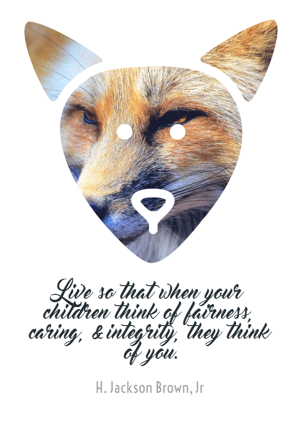 Cartoon,                Fox,                Illustration,                Poster,                Text,                Quote,                Simple,                White,                 Free Image