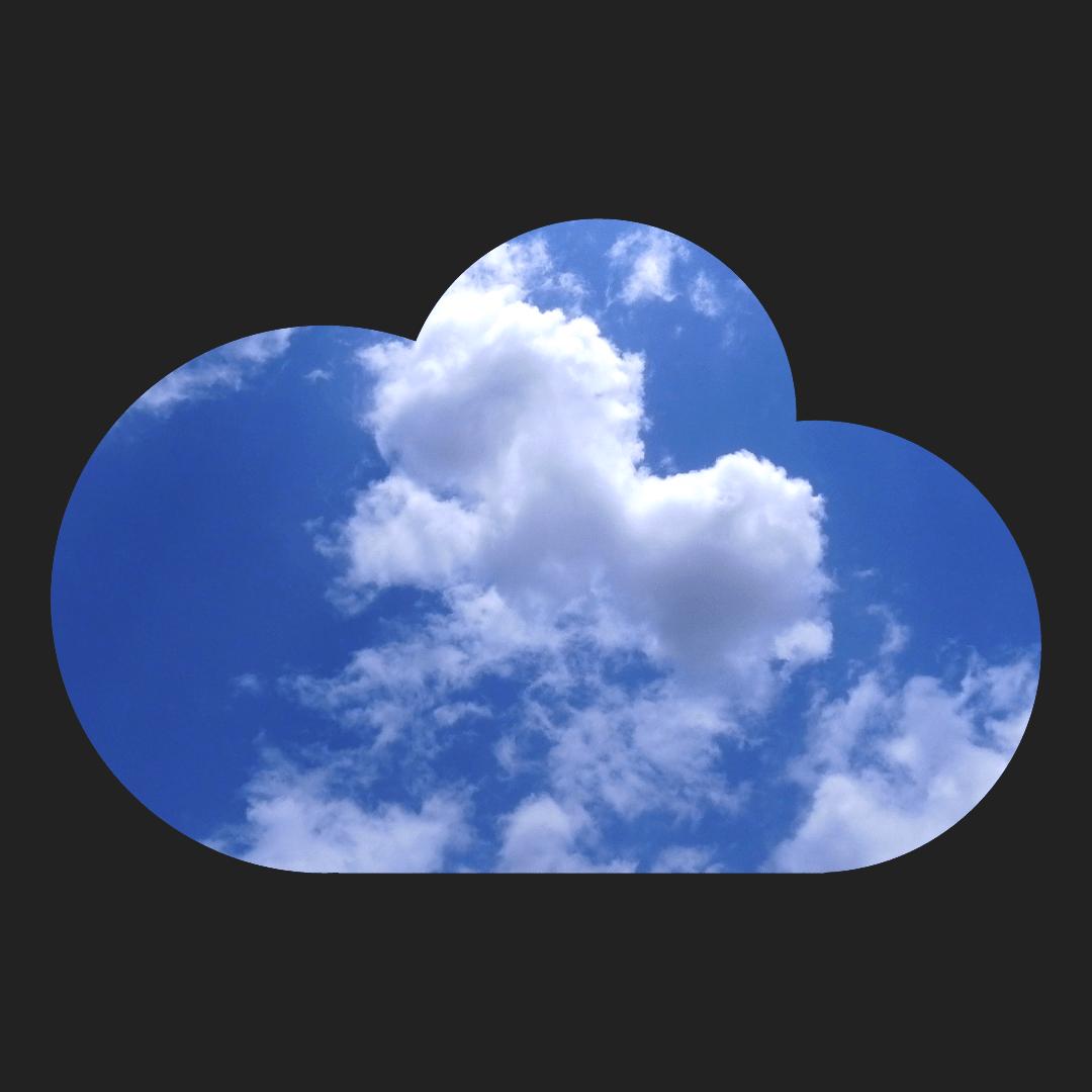 Sky,                Cloud,                Blue,                Cumulus,                Atmosphere,                Avatar,                White,                Black,                 Free Image