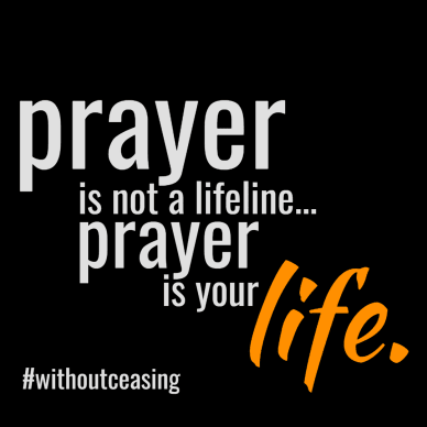 prayer is life #poster