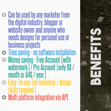 #PixTeller  - Benefits
