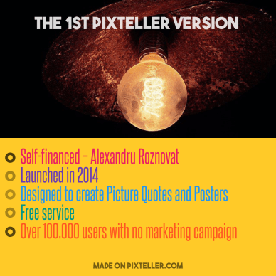 #PixTeller  - The 1st PixTeller version