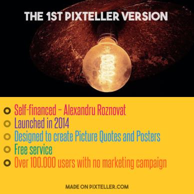 #PixTeller  - The 1st PixTeller version