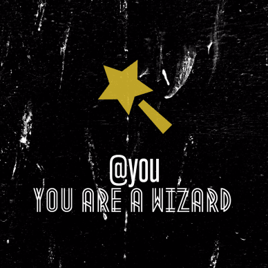 #Poster - You are a Wizard