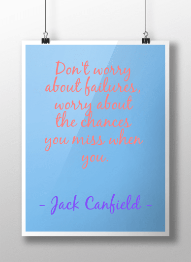 Poster #inspirational #quote #flat