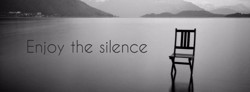 #silence #facebook #cover Design  Template