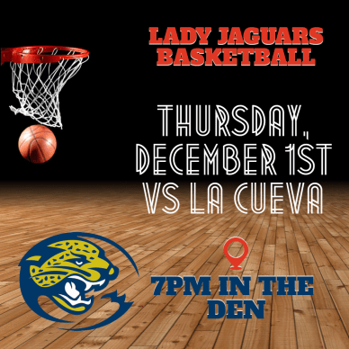 #announcement GIRL BBALL - Lady Jaguars Basketball
