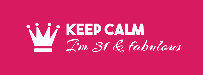 Keep Calm - I'm fabulous  Design  Template