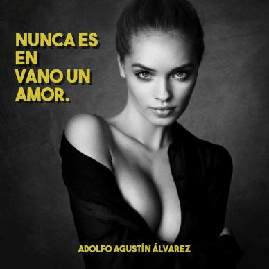 Nunca es en vano un amor - #photo #poster