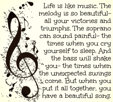 #life #music #quote #beautifulsong