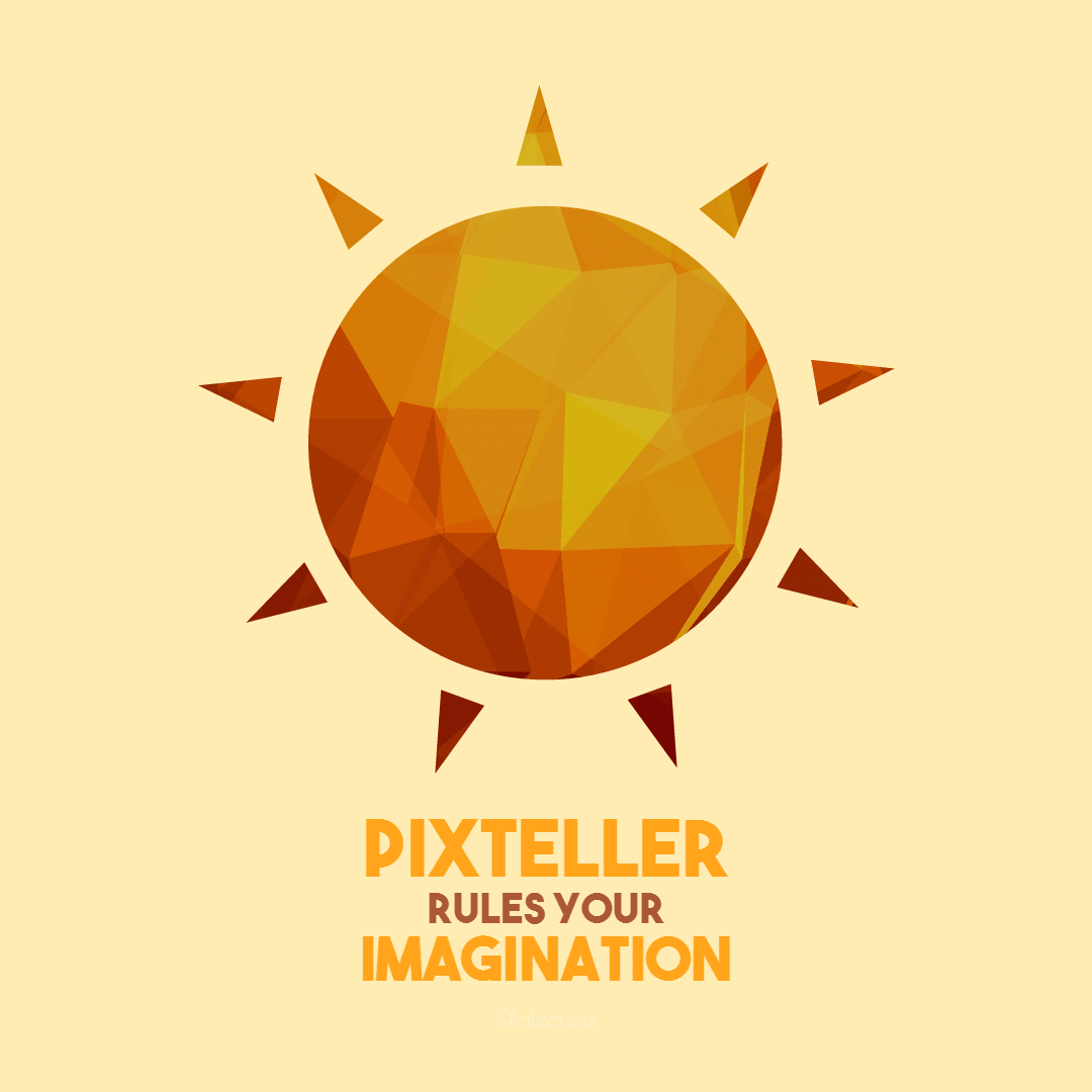 #poster - PixTeller rules your Design  Template