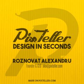 #PixTeller  - Visual Branding Presentation Pitch
