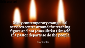Many contemporary evangelical