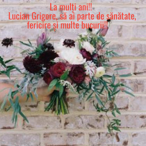 La multi ani Lucian Grigore
