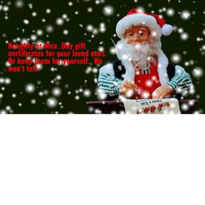 Naughty or Nice Santa's List