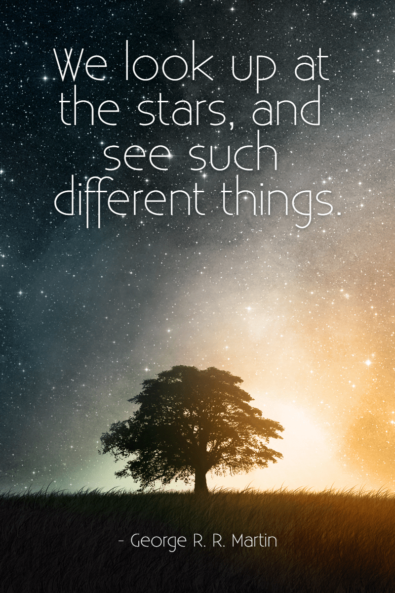 #stars #poster #quote Design  Template