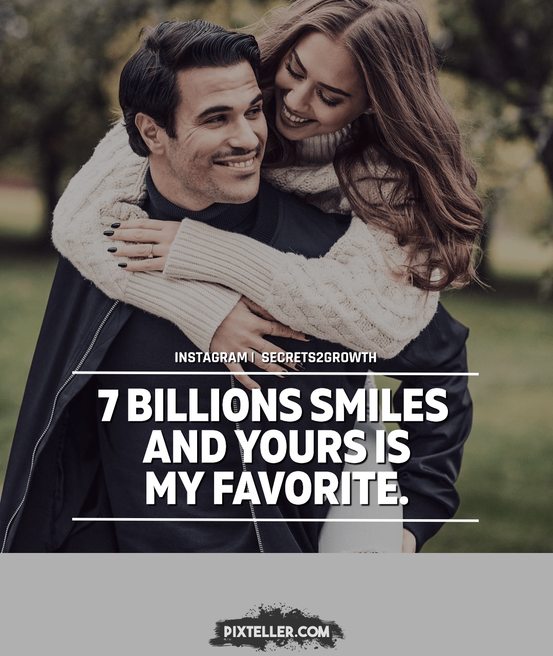 Luca 7 Billions Smiles And Yours Is My Favorite P O Poster