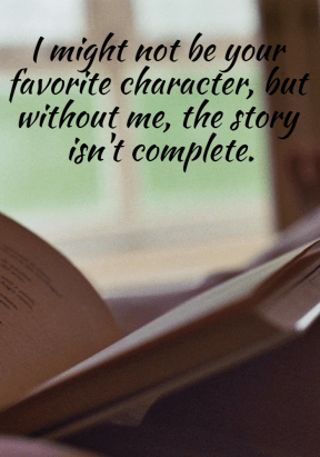 #book #me #character #life #quote