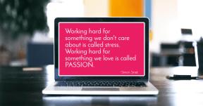 #stress #passion #SimonSinek