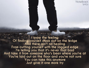 #nickelback #lullaby #lyrics #me #life #sad #listen #beenthere #scary #why #sad #quote