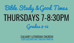 Calvary Student Invite Card (back)