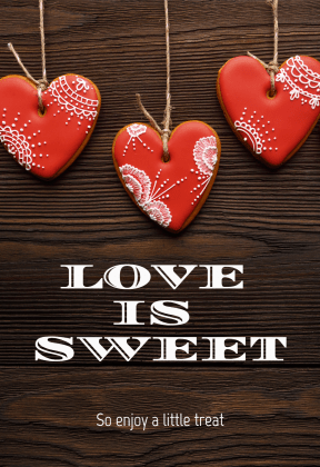 Love is sweet  #love #valentine #heart #sweet