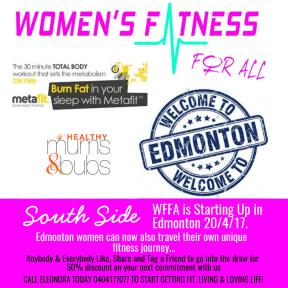 WFFA - Edmonton Start Up 20/4/17