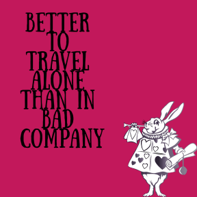 Alice 1 - Better to travel - Font Sunday