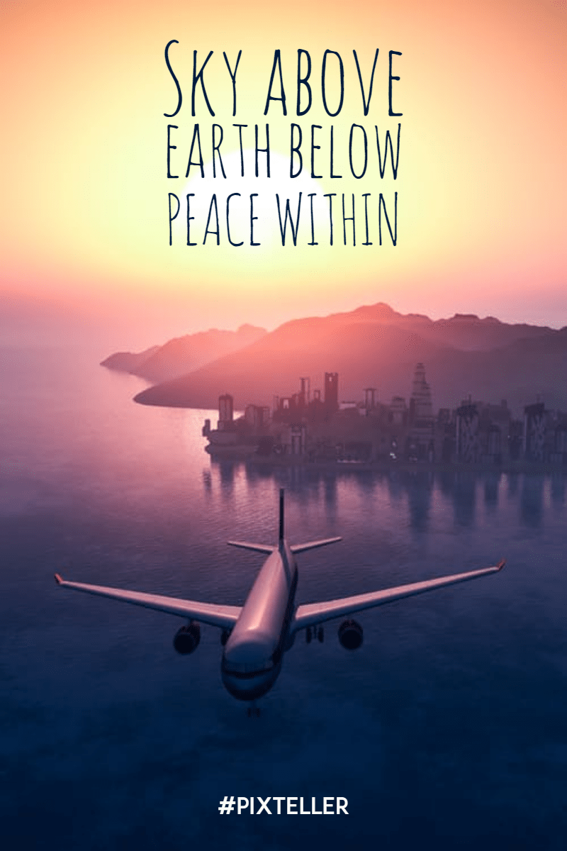 Air, Travel, Airline, Atmosphere, Of, Earth, Aviation, Airplane, Simple, Poster, Quote, White, Black,  Free Image