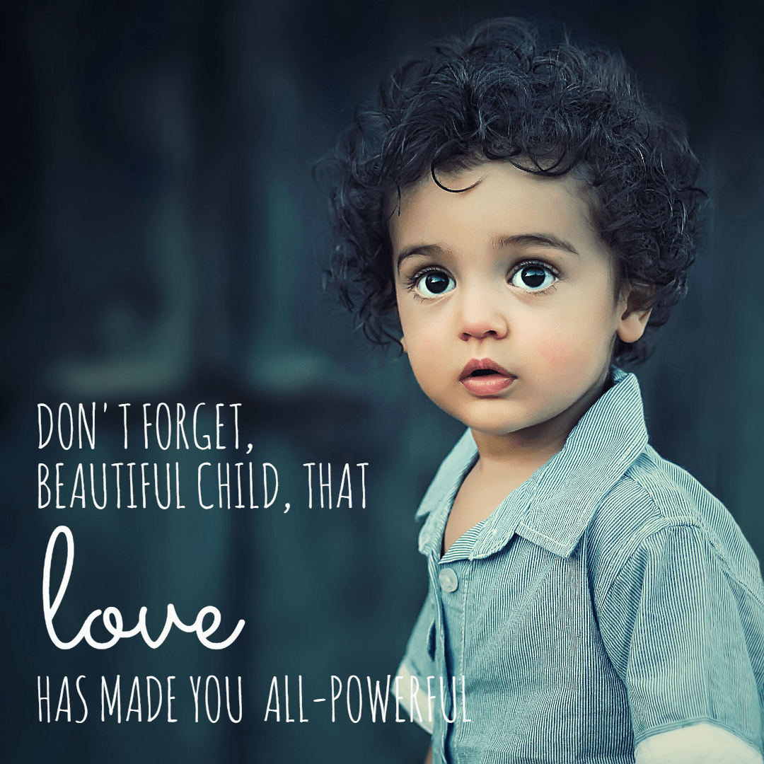 Child, Black, Hair, Toddler, Human, Behavior, Photo, Caption, Poster, Text, Quote, Simple, White,  Free Image