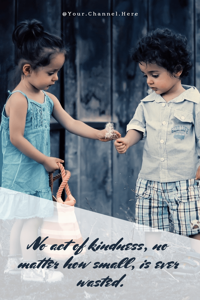 kindness #love #poster #quote Design  Template