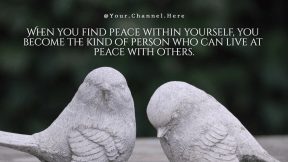 peace #love #poster #quote
