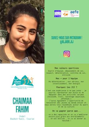 #jij Chaimaa