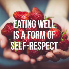 #template #poster #simple #quote #food