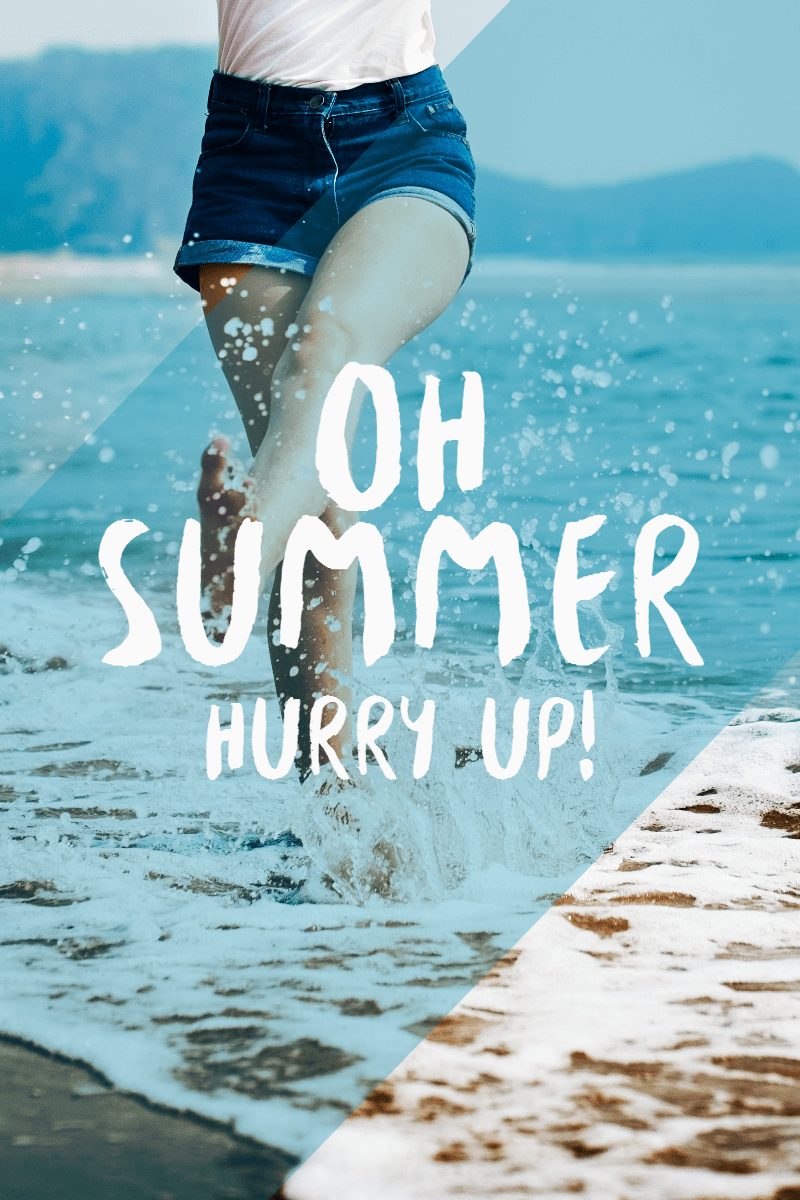 #template #summer #simple #poster Design  Template