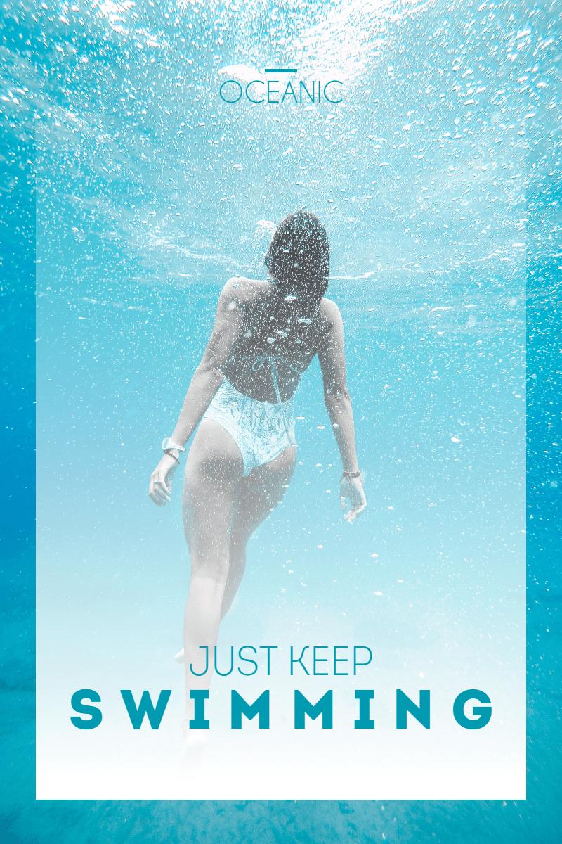 #poster #ocean #template  Design  Template