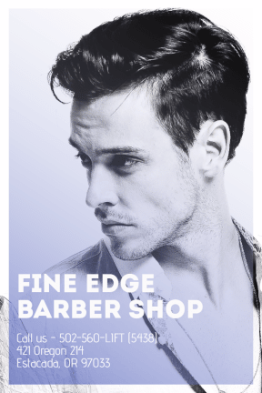 #poster #template #barbershop