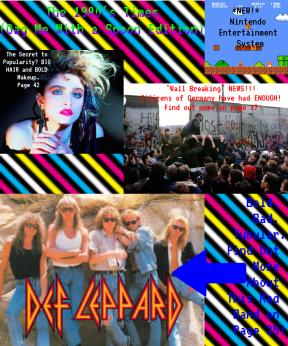 80's Magazine Cover