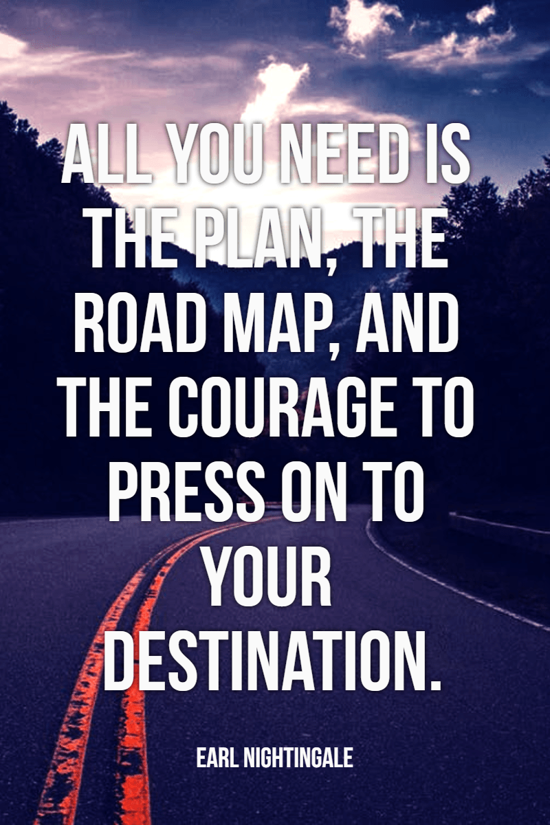 #road #adventure #quote #poster Design  Template