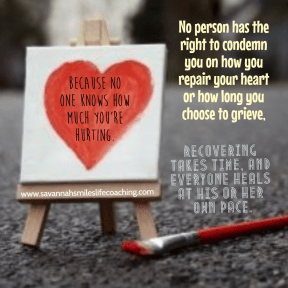 Healing at your own pace