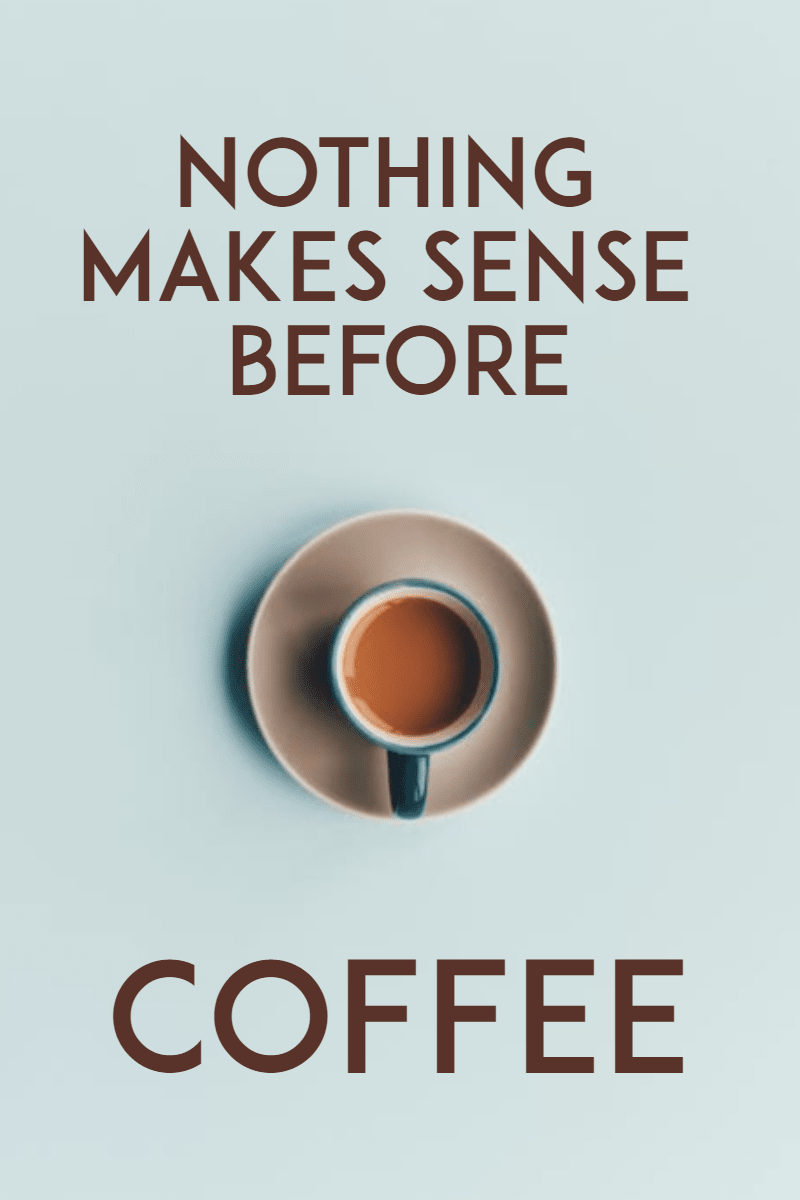#coffee #poster #simple Design  Template