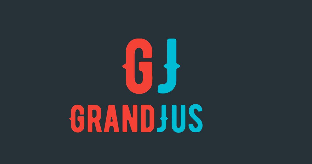 Grand Jus #Logo #business Design  Template