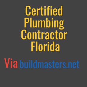 Crtified Plumbing Contractor Florida