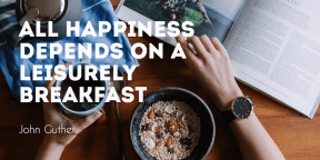 #food #breakfast #happiness #quote #poster