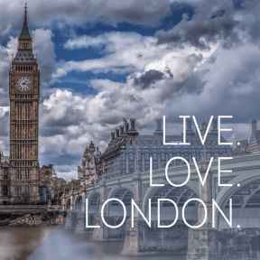 #poster #london #love #live #simple