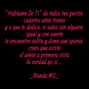 #quote #simple #letras #cansiones #song #spanish #bandams