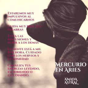 MERCURIO EN ARIES