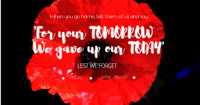 ANZAC QUOTE