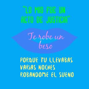 #beso #versos #poster #tweet #tuit #merobaste