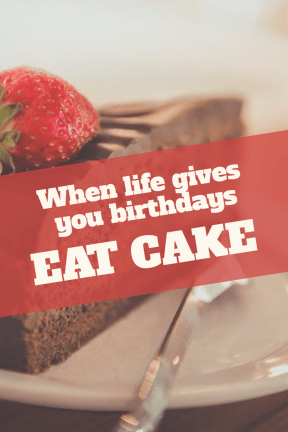 Eat cake #birthday #anniversary #wishes