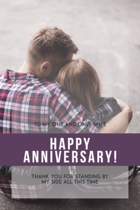 Happy anniversary #anniversary #wife #love